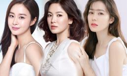 5 mỹ nhân hàng đầu xứ Hàn: Song Hye Kyo có sự nghiệp sớm nhất, nhưng hiện tại là người cô độc nhất