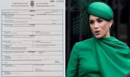 Meghan cố tình đổ lỗi cho Hoàng gia Anh về việc sửa đổi giấy khai sinh của con trai
