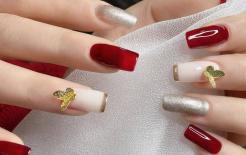 Những mẫu móng tay màu đỏ Tết được nhiều chị em chia sẻ! Giờ vẫn kịp để bạn làm đẹp cho mình