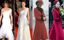 Công nương Anh Kate có bắt chước cách ăn mặc của mẹ chồng là Công nương Diana?