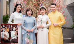 Ngọc Hân đeo khẩu trang khi ghi hình chương trình Tết cùng dàn nghệ sĩ