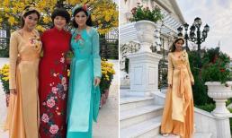Gu thời trang của em chồng Tăng Thanh Hà - Tiên Nguyễn trong dịp Tết được khen ngợi