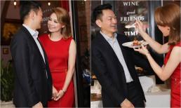 Đang ở Việt Nam, Thanh Thảo chúc mừng ông xã Việt kiều đầy ngọt ngào: 'Yêu thương anh rất nhiều'