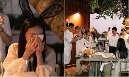 Ngô Thanh Vân lộ chi tiết đeo nhẫn ở ngón áp út trong tiệc sinh nhật, netizen nghi ngờ CEO Huy Trần đã chính thức cầu hôn