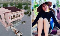 'Không mập mờ', Thủy Tiên công bố hình ảnh xây dựng 10 nhà chống lũ cho bà con miền Trung