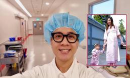 Bà xã JustaTee - hot girl Trâm Anh đã hạ sinh con thứ hai
