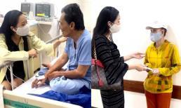 NSƯT Trịnh Kim Chi đến thăm nghệ sĩ Thương Tín, cho biết nam tài tử đã qua cơn nguy kịch