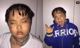 Con trai Xuân Bắc - Bi Béo hóa rapper cực chất, còn khoe gia nhập cùng hội với MCK