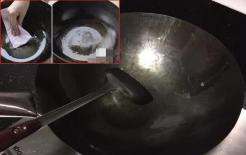 Chảo sắt ở nhà ngày nào cũng bị gỉ? Đầu bếp già: Cho thứ này vào chảo, nó sẽ không bị gỉ hoặc dính