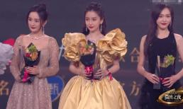Sau nhiều năm 'từ mặt', cặp bạn thân Dương Mịch - Đường Yên vẫn phớt lờ nhau dù phải đứng chung sân khấu sự kiện