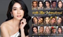 Sau màn nói tiếng anh như 'bắn rap', Phương Anh được dự đoán lọt top 2 Miss International do Missosology bình chọn