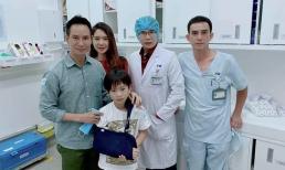 Thành tích học tập khủng của bác sĩ điều trị cho con trai Lý Hải