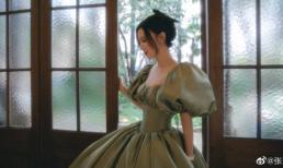 Liều mạng đóng phim đến mức sảy thai, Hoa hậu hoàn vũ Trung Quốc lại phải vào viện vì... mặc váy quá bó