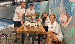 Công khai chưa lâu, Minh Luân đưa bạn gái đến thăm gia đình Ốc Thanh Vân
