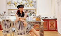Đăng ảnh 'sống ảo', vợ 2 Minh Nhựa bị soi copy thiếu status tiếng Anh