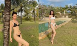 Đăng ảnh bikini bốc lửa, Phí Phương Anh được dân mạng khen đẹp nhưng 'xin đừng hát'