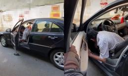 Vừa khỏi đột quỵ, nghệ sĩ Thương Tín khiến netizen lo lắng khi cầm lái ô tô