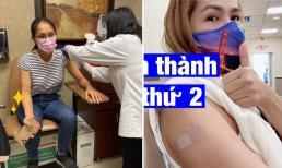 Ca sĩ Hồng Ngọc, Cam Thơ đã được tiêm vắc xin Covid-19 tại Mỹ