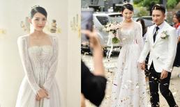 Bóc giá chiếc váy vợ hot girl của Phan Mạnh Quỳnh mặc trong đám cưới