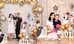 Ca sĩ Nhật Thủy tổ chức tiệc sinh nhật cho quý tử tròn 3 tuổi