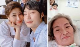 Chồng đang trên đường về Việt Nam, Pha Lê nhắn nhủ mẹ chồng bị bệnh nặng: 'Con và Ốc tạm biệt bà nhé'