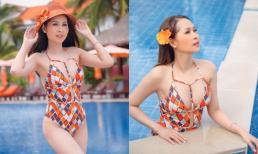 'Gái nhảy' Minh Thư diện bikini khoe body nóng bỏng