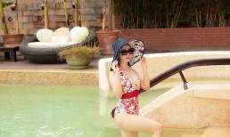 Hoa hậu Đền Hùng Giáng My khoe vóc dáng thon gọn khi diện bikini ở tuổi 50