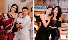 Siêu mẫu Ninh Hoàng Ngân đón sinh nhật bên chồng đại gia và bạn bè