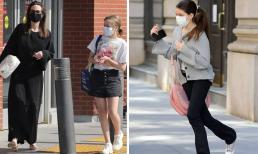 Con gái út của Angelina Jolie và công chúa nhà Tom Cruise đều lớn phổng, có điểm chung ai nhìn cũng phải tấm tắc khen