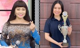 Xinh xắn và có tài năng nghệ thuật, con gái NSƯT Ngọc Huyền còn gây sốt khi tốt nghiệp thủ khoa tại Mỹ