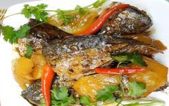 Cá bạc má kho dứa, món ăn ngon miệng, đưa cơm ngày hè