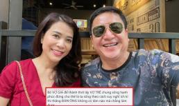 Nghệ sĩ Chí Trung đáp trả khi bị mắng là 'thằng đàn ông rẻ tiền', 'bỏ vợ già để thảnh thơi lấy vợ trẻ'