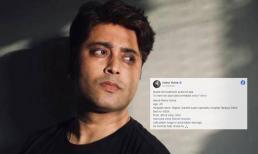 Sao nam nổi tiếng Ấn Độ qua đời, bài đăng cuối trên Facebook trước khi mất khiến ai cũng xót xa