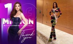 Facebook Khánh Vân chính thức cán mốc một triệu follower chỉ sau 4 ngày chinh chiến tại Miss Universe