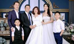 Ba thế hệ nhà Đăng Khôi hạnh phúc trong cùng một khung hình
