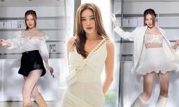 Ở nhà tránh dịch, Ninh Dương Lan Ngọc đãi fans bằng bằng loạt outfit chất lừ