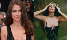 Bị so kè nhan sắc với người yêu mới của Kanye, Kim Kardashian lên đồ khoe vòng một 'bức thở' và khí chất sang chảnh