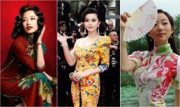 Mỹ nhân Hoa ngữ mặc sườn xám đẹp như thế nào: Nghê Ni quyến rũ, Vương Lệ Khôn dịu dàng, Phạm Băng Băng độc đáo