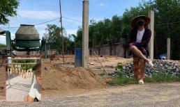 Trốn dịch kiểu Trường Giang: Hết đi phơi thịt đến làm phụ hồ xây nhà