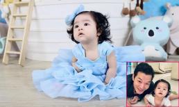 Loạt ảnh mới xinh xắn như búp bê của con gái thứ hai nhà Trần Bảo Sơn