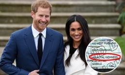 Harry và Meghan bị mỉa mai 'mặt dầy' khi vẫn ghi kèm tước hiệu Hoàng gia trong giấy khai sinh của con gái