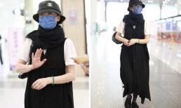 Cách ăn mặc kỳ quái của Châu Tấn ở sân bay khiến cô bị chê như hành khất