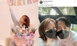 Trấn Thành ẩn ý có 'tin vui', Hari Won đăng status nói rõ sự thật giữa ồn ào