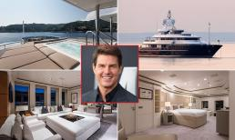 Tom Cruise khoe độ giàu có khi dùng du thuyền hơn 1.000 tỷ đi dạo biển