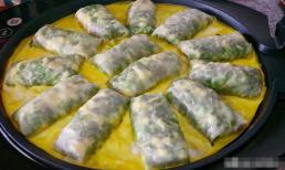Cách làm bánh cuốn kiểu mới: Chỉ với 1 nắm lá hẹ, 5 quả trứng, bạn đã có ngay món ăn bổ dưỡng thơm ngon