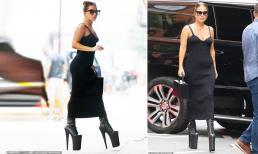 Nhiều lần ngã 'dập mặt' vẫn 'không chừa', Lady Gaga tiếp tục xuống phố với đôi giày cao 30cm