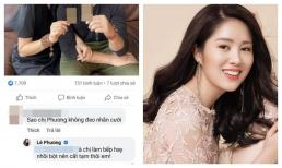 Cư dân mạng chất vấn không đeo nhẫn cưới với chồng trẻ, Lê Phương lập tức dập tắt ngay