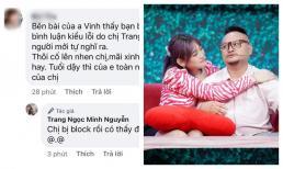 Lương Minh Trang lại tiết lộ bị chồng cũ chặn facebook sau những lời tốt đẹp, Vinh Râu phản ứng như một trò đùa