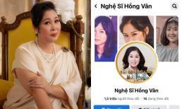 Fanpage 'NSND Hồng Vân' đổi tên thành 'Nghệ sĩ Hồng Vân', nữ nghệ sĩ chính thức lên tiếng