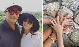 Bà xã Jang Dong Gun lần đầu đăng ảnh cùng chồng sau scandal tìm gái mua vui